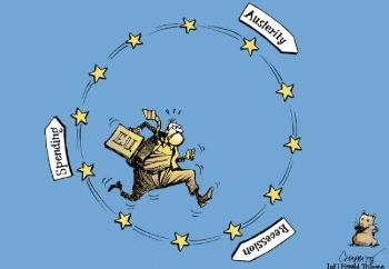 Risultati immagini per europa in crisi