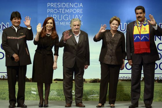 Presidentes-Sudamerica